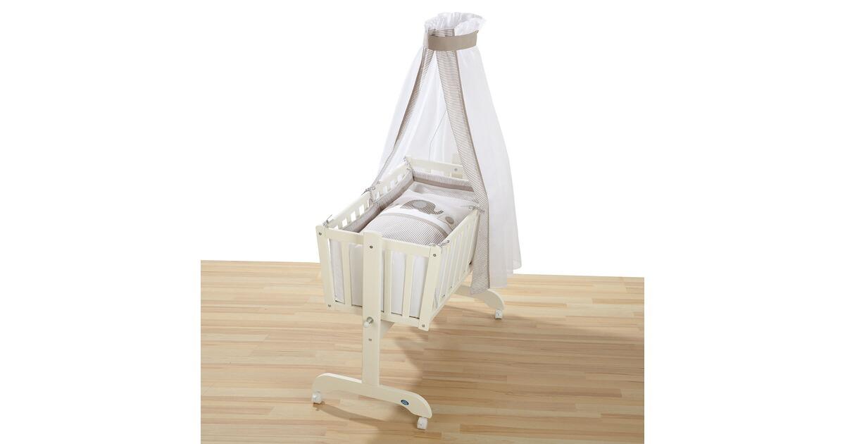 Stubenwagen weiß komplett garniert leipold designs