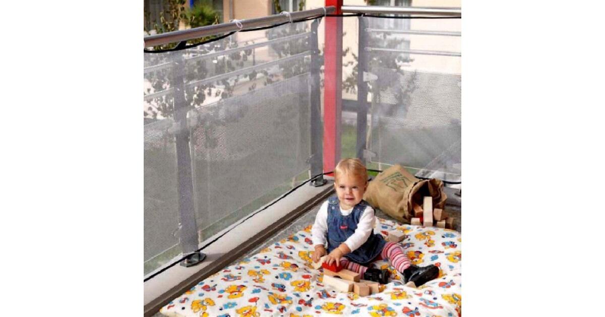 reer le filet de protection pour balcon commander en ligne baby walz. Black Bedroom Furniture Sets. Home Design Ideas