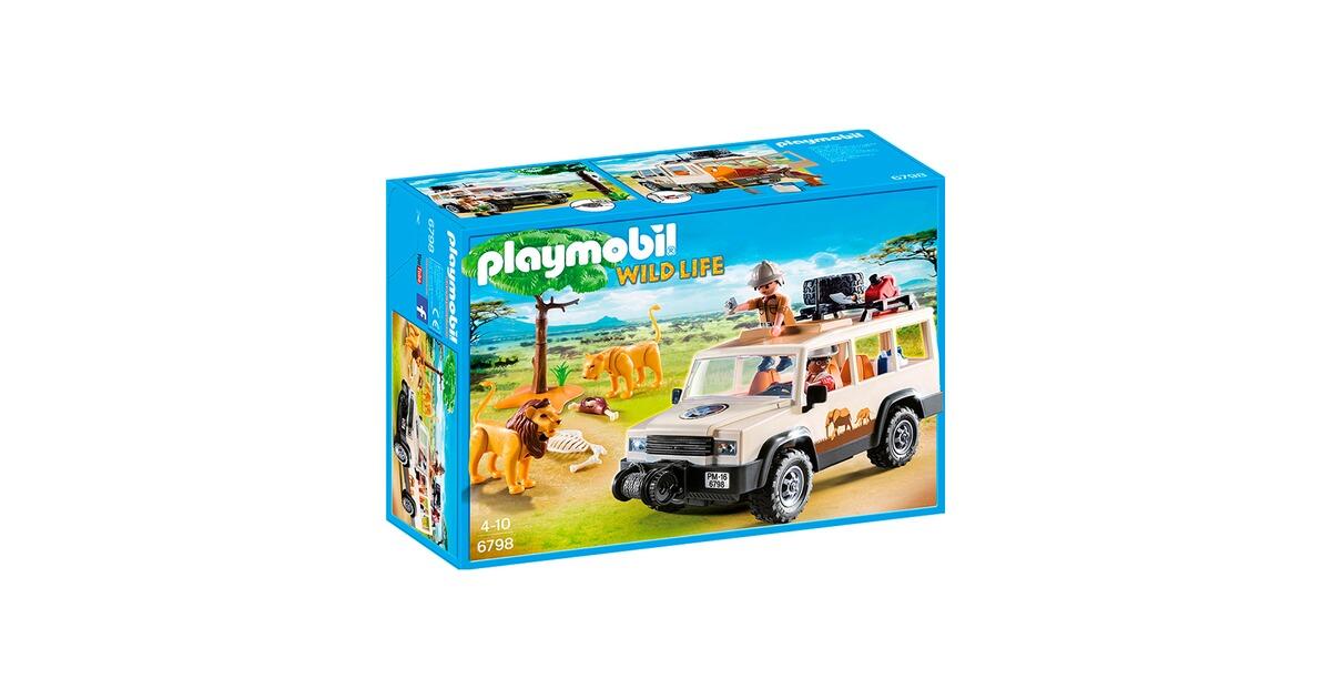 Wie neu. Playmobil 6798 Safari Geländewagen mit Seilwinde