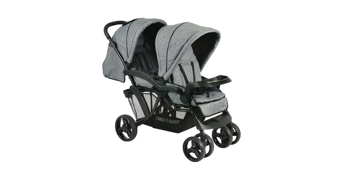 chic 4 baby doppio geschwisterwagen online kaufen baby walz. Black Bedroom Furniture Sets. Home Design Ideas