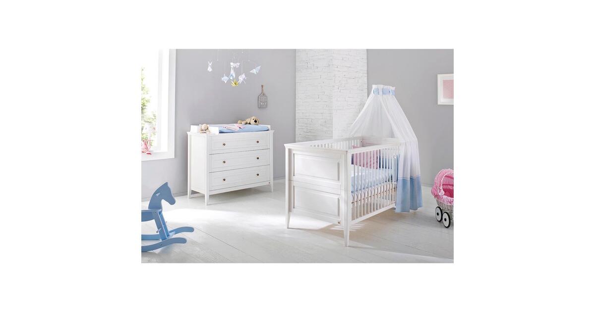 pinolino 2 tlg babyzimmer smilla online kaufen baby walz. Black Bedroom Furniture Sets. Home Design Ideas