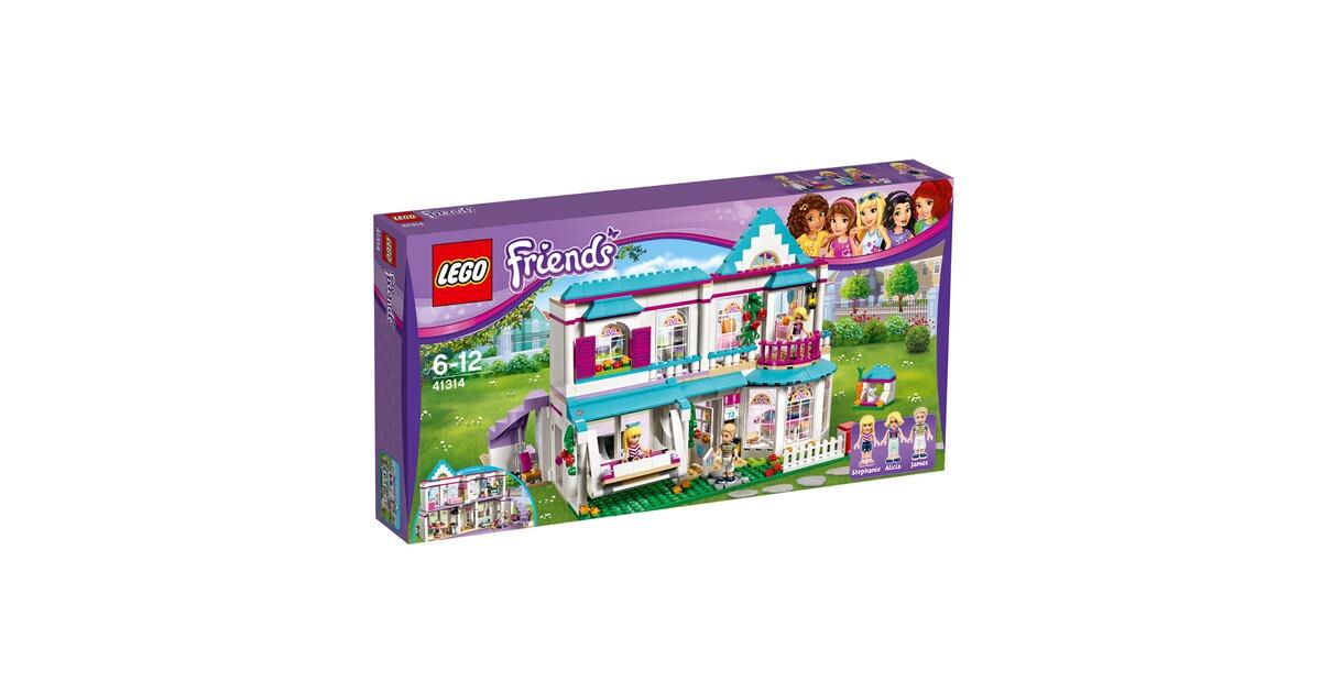 lego friends 41314 la maison de st phanie commander en ligne baby walz. Black Bedroom Furniture Sets. Home Design Ideas