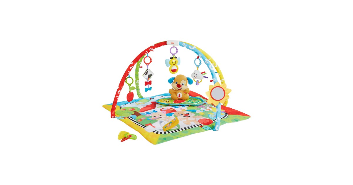 fisher price spielbogen h ndchen mit spieldecke online kaufen baby walz. Black Bedroom Furniture Sets. Home Design Ideas