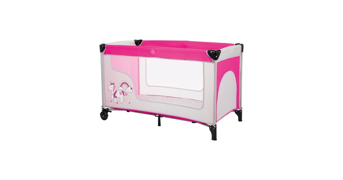 fillikid le lit parapluie licorne gris rose commander en ligne baby walz. Black Bedroom Furniture Sets. Home Design Ideas