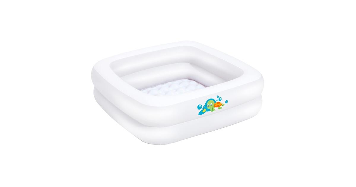 La piscine pour b b 86 x 86 cm placer dans la douche for Piscine de douche bebe
