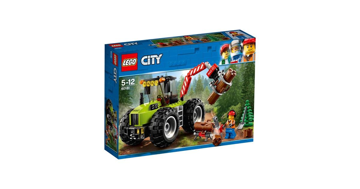 Tracteur City Walz En LigneBaby Le Commander Lego® 60181 À Forestier srCxohtQBd