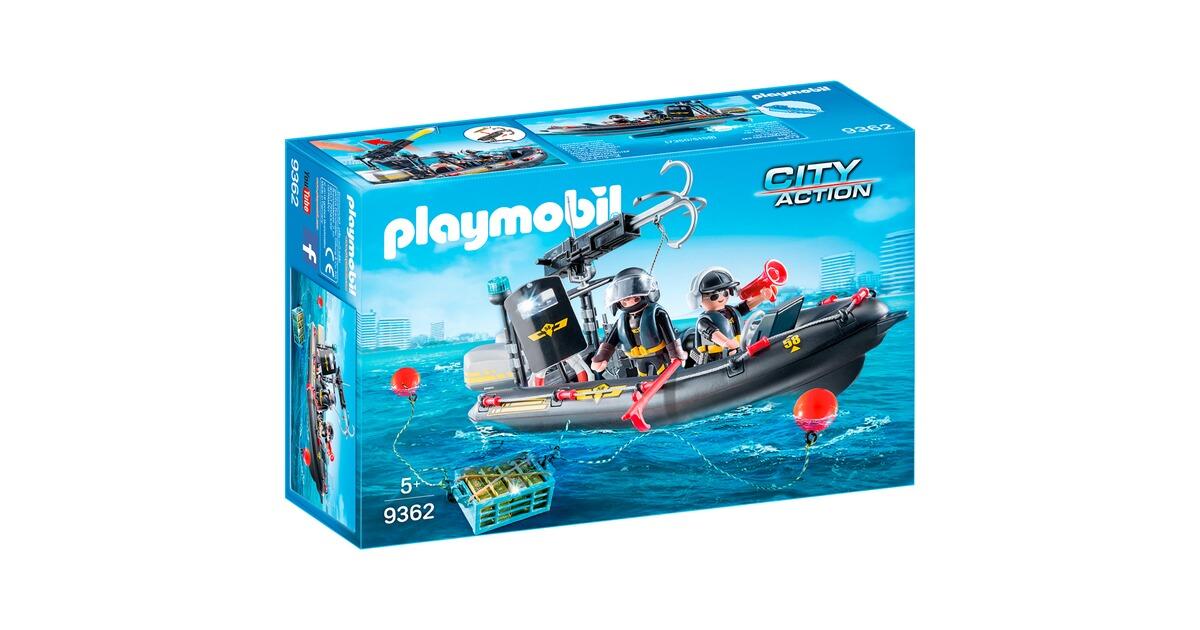 playmobil city action 9362 sek schlauchboot online kaufen baby walz. Black Bedroom Furniture Sets. Home Design Ideas