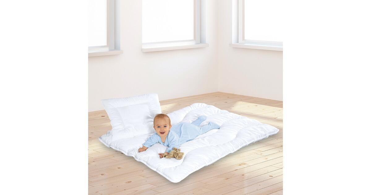 2 tlg steppbett set satine 40x60 100x135 cm online kaufen baby walz. Black Bedroom Furniture Sets. Home Design Ideas