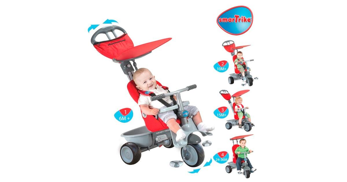 Smartrike Smart Trike Dreirad Recliner Stroller 4in1 Online Kaufen Baby Walz