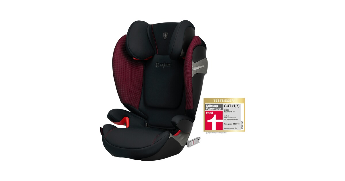 cybex gold solution s fix kindersitz scuderia ferrari. Black Bedroom Furniture Sets. Home Design Ideas