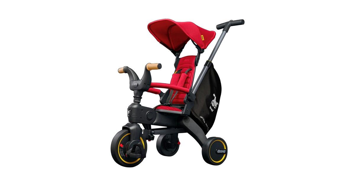 Flame Red Rouge Doona Tricycle Liki Trike S1 v/éhicule Enfant