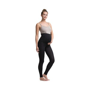 Boob®Umstandsleggings Once-on-never-off schwarz 1