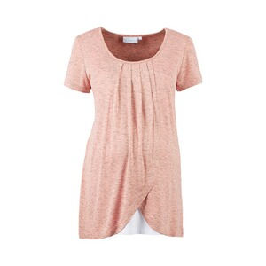 2hearts WE LOVE BASICS Umstands- und Still-T-Shirt 2in1  Rose Bubbles