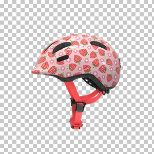 ABUS  Casque de vélo Smiley 2.1  rose Strawberry
