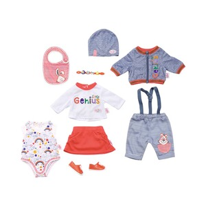 Zapf Creation BABY BORN Puppen Outfit Deluxe Super Mix & Match Set 43cm