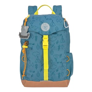 Lässig  Kindergartenrucksack Outdoor Mini Backpack Adventure  blau