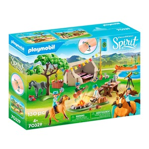 Playmobil® SPIRIT RIDING FREE 70329 Sommercamp