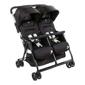 Chicco  Poussette-canne jumeaux Ohlalà Twin  black night
