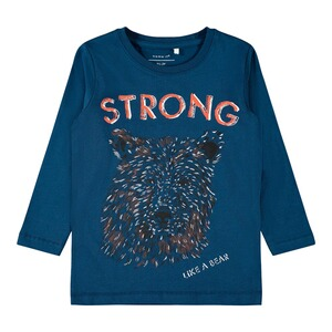 NAME IT  T-shirt à manches longues Strong Bear