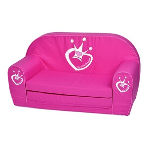 KnorrtoysCanapé enfant My Little Princess  rose vif 1