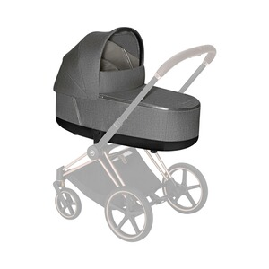 Cybex PLATINUM Nacelle Plus Priam Lux  manhattan grey