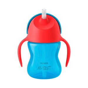 Philips Avent  Strohhalmbecher, SCF796/01, 200ml, 9-12M