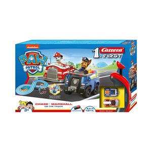 Carrera PAW PATROL Auto-Rennbahn Carrera First - On the Track