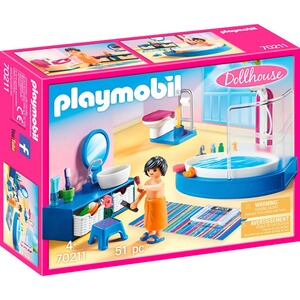 Playmobil® DOLLHOUSE 70211 Badezimmer