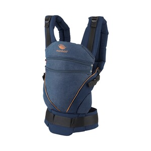 manduca® XT Babytrage, 3 Tragepositionen  denimblue