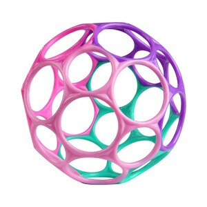 Oball  La balle Oball Classic™ 10 cm  violet/rose/turquoise