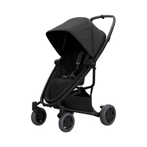 Quinny Premium Zapp Flex plus Buggy mit Liegefunktion  black on black