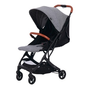 knorr-baby  Poussette-canne entièrement inclinable B-Easy Fold  gris
