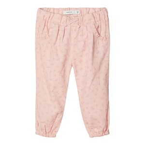 NAME IT  Pantalon en velours côtelé fleurs