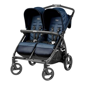 Peg Perego  Poussette jumeaux Book for Two  Indigo