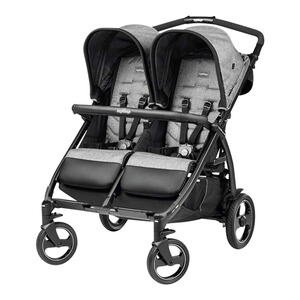 Peg Perego  Poussette jumeaux Book for Two  Cinder