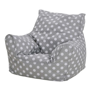 Knorrtoys  Kindersitzsack Grey  white dots