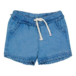 Feetje  Short soft denim ruchés