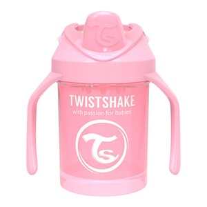 Twistshake  Mini Cup 4M+ 230 ml  rose vif
