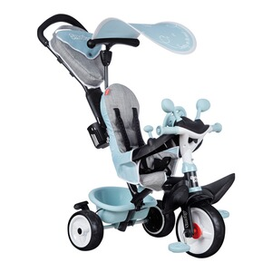 Smoby  Tricycle Baby Driver Confort  bleu ciel