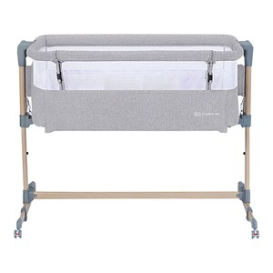 Kinderkraft  Beistellbett Neste Air  grey / wood