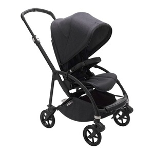 BugabooBEE6Sportwagen Mineral Kollektion  black washed 1