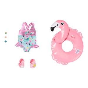 Zapf Creation BABY BORN Puppen Outfit Schwimmspaß-Set 43cm