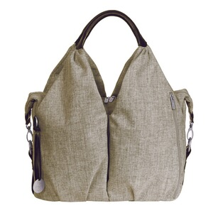LÄSSIG GREEN LABEL Wickeltasche Neckline Bag  choco