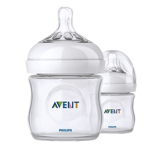 PHILIPS AVENT  Les 2 biberons Natural 125 ml
