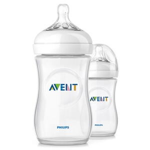 PHILIPS AVENT  Les biberons nature  transparent