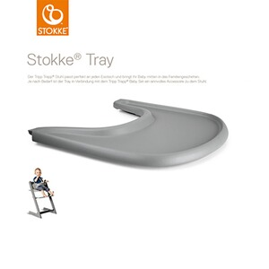 Stokke® TRIPP TRAPP® Tablette Tray pour chaise haute  Storm Grey