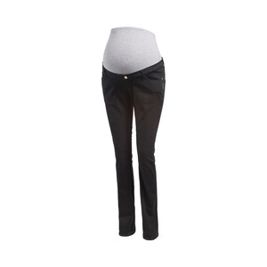 2heartsWE LOVE BASICSLa pantalon de grossesse en power stretch black 1