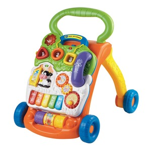 VTECH BABY Le trotteur ludique  orange