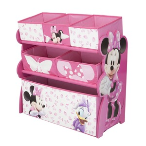 DELTA CHILDREN MINNIE MOUSE La multi-étagère Disney Minnie Mouse