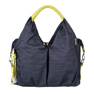 LÄSSIG GREEN LABEL Sac à langer Neckline Bag  denim blue